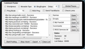 Utilisez les Ping pour accélérer l'indexation