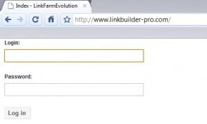 Logiciel seo link farm evolution utilisé par linkbuild pro