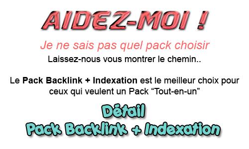 Backlink avec indexation pour cette presta tout-en-un