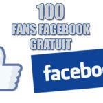 100 fans facebook gratuit