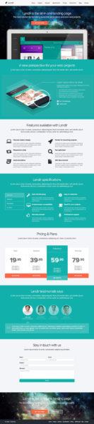 Top 10 Landing page Wordpress 2014