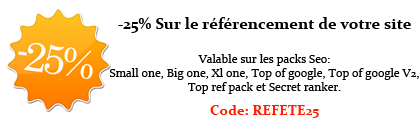 promo r�f�rencement